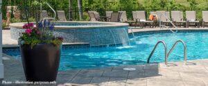Harrisonburg Virginia Apartment Pool