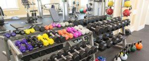 Harrisonburg Apartments in Gym