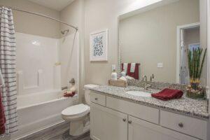 Chester Apartment Bathroom