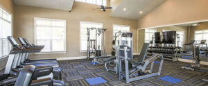 Chester Apartment Fitness Center at The Reserve at Rivington