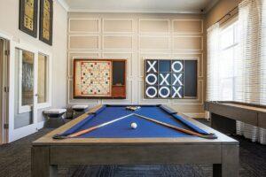 Rivington Apartments Billiards Room