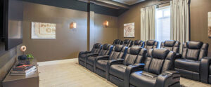 Chester Apatment Movie Theater at the Reserve at Rivington