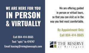 Rivington Virtual Notice