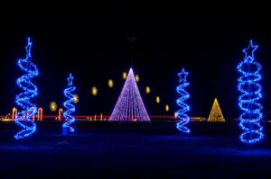Holiday Light Displays near your Chesterfield Apartment