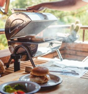 Grilling safely in your Rivington apartment community