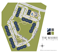 Reserve at Rivington Apartment Siteplan