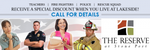 Apartments in Harrisonburg Military Discounts Available