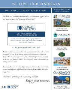 Cathcart Club Card
