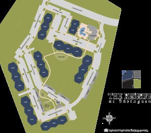 Reserve at Rivington Apartment Siteplan