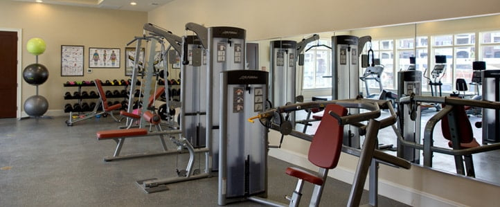 Chester Apartment Fitness Center