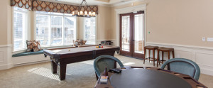 Billiards Room at Rivington Apartments in Chester Va