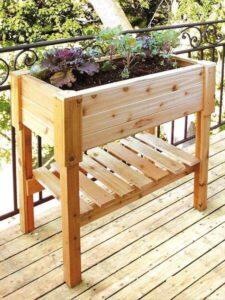 Apartment Patio Garden Box